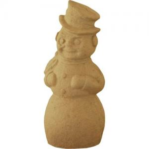 """Bare Naked Crafts Paper Mache Snowman 12"""" [P02-HO-010010]"""