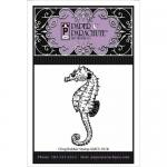 Paper Parachute Cling Rubber Stamp - Seahorse [UMCS-1018]