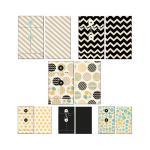 Fancy Pants Park Bench Patterned Envelopes 6/Pkg