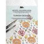 Pepin Artists' Coloring Book - Turkish Designs