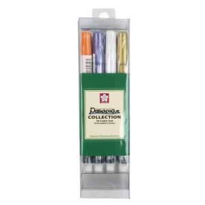 Permapaque Fine Point Paint Markers - Set of 16 [58314]