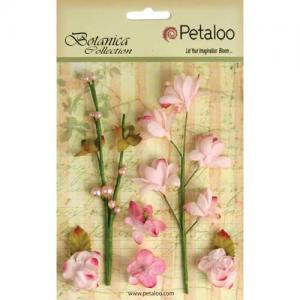 Petaloo Botanica Floral Ephemera - Soft Pink [1100 101]