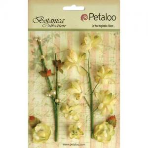 Petaloo Botanica Floral Ephemera - Soft Yellow [1100 103]