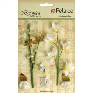 Petaloo Botanica Floral Ephemera - White [1100 100]