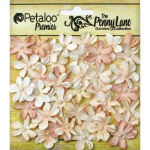 Petaloo Penny Lane Mini Pearl Daisies - Antique Mauve [1839-070]