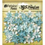 Petaloo Penny Lane Mini Pearl Daisies - Robin's Egg Blue [1839-056]