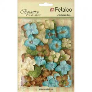 Petaloo Botanica Velvet Hydrangeas - Blue [1272 200]