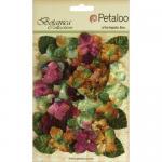 Petaloo Botanica Velvet Hydrangeas - Maroon [1272 182]