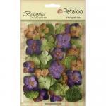 Petaloo Botanica Velvet Hydrangeas - Violet [1272 205]