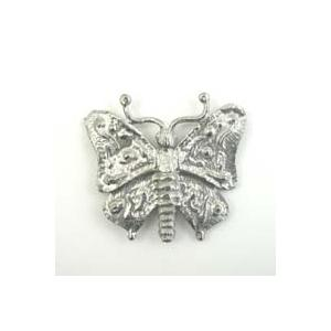 Pewter Accents - Large Butterfly