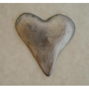 Pewter Accents - Large Heart
