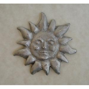 Pewter Accents - Large Sun