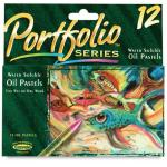 Portfolio Series Water Soluble Oil Pastels - Set of 12 Colors