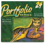 Portfolio Series Water Soluble Oil Pastels - Set of 24 Colors