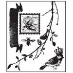Prima Clear Stamps - [555030] Songbird Love