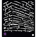 """Prima 6"""" x 6"""" Stencil - The Wall [582920]"""