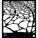 """Prima 6"""" x 6"""" Stencil - Stone Walkway [582937]"""