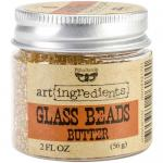 Prima Art Ingredients Glass Beads - Butter
