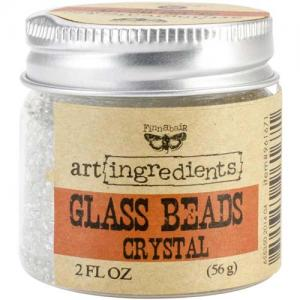 Prima Art Ingredients Glass Beads - Crystal