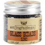 Prima Art Ingredients Glass Beads - Zinc