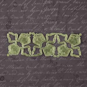 Prima Relics & Artifacts Dresden Paper Trim - Gold Crowns [942588]