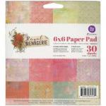 """Prima 6"""" x 6"""" Paper Pad - Royal Menagerie [847432]"""