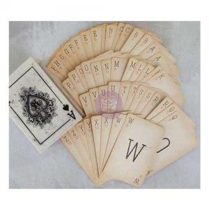 Prima Vintage Boxed Alpha Cards [584283]