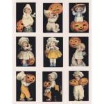Printed Fabric Images - Halloween Kids