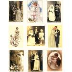 Printed Fabric Images - Brides & Grooms