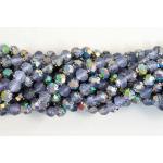 5/6mm Rosebud Firepolish Beads - [MV2021] Matte Alexandrite Vitral