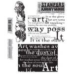 Stampers Anonymous/Tim Holtz Classics Unmounted Stamp Set - [SCF004] Classics #4