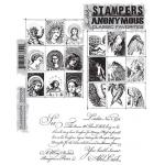 Stampers Anonymous/Tim Holtz Classics Unmounted Stamp Set - [SCF009] Classics #9