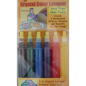 3D Crystal Lacquer Primary Color Set