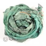 Sari Silk Ribbon - Evergreen