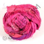 Sari Silk Ribbon - Fuchsia