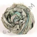 Sari Silk Ribbon - Olive