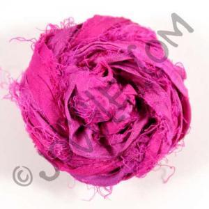 Sari Silk Ribbon - Plum