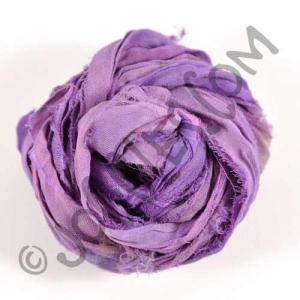 Sari Silk Ribbon - Purple