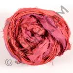 Sari Silk Ribbon - Ruby