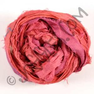Sari Silk Ribbon - Ruby