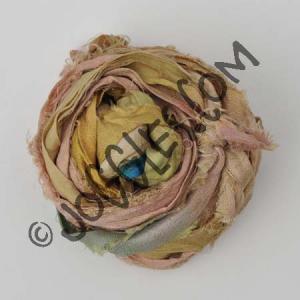 Sari Silk Ribbon - Sand
