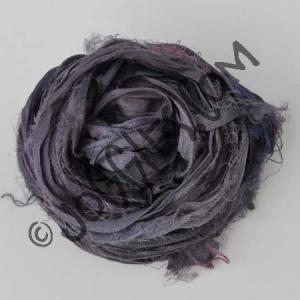 Sari Silk Ribbon - Smoke