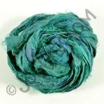 Sari Silk Ribbon - Teal