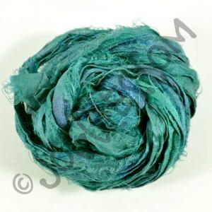 Sari Silk Ribbon - Teal