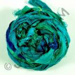 Sari Silk Ribbon - Topaz