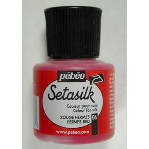 Pebeo Setasilk - 06 Hermes Red