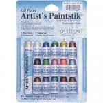 Shiva Artist's Paintsticks - 16 Mini Iridescent Colors [11305]