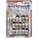 Shiva Artist's Paintsticks - 16 Mini Matte Colors [11306]