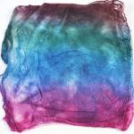 Hand Dyed Silk Hankies - Cathedral