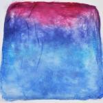 Hand Dyed Silk Hankies - Deep Space